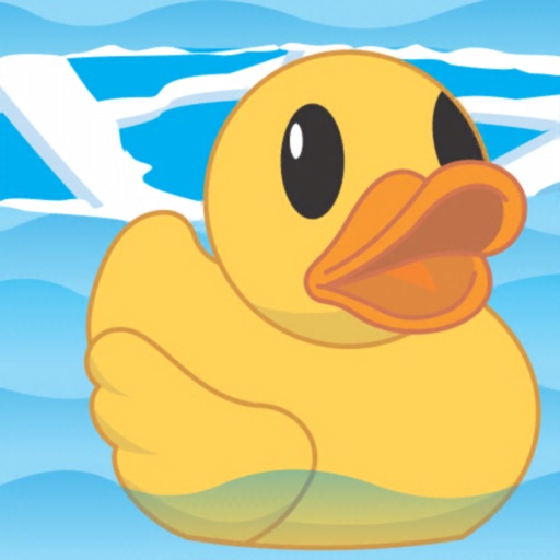 help the duck Water sliding