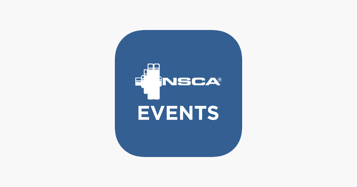 NSCA EVENTS on the App Store