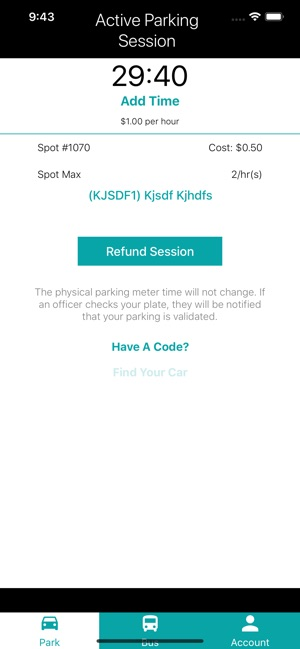 HotSpot Parking + Transit on the App Store