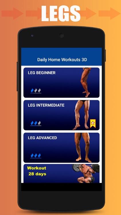 Home Workout No Equipment screenshot-4