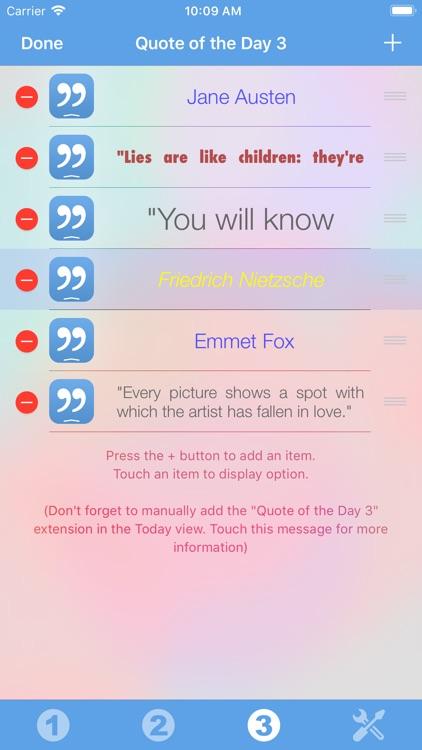 Quote of the Day Widget screenshot-3