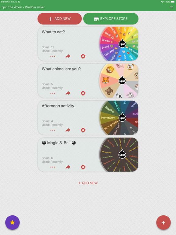 Spin The Wheel Random Picker By Taurius Petraitis Ios United