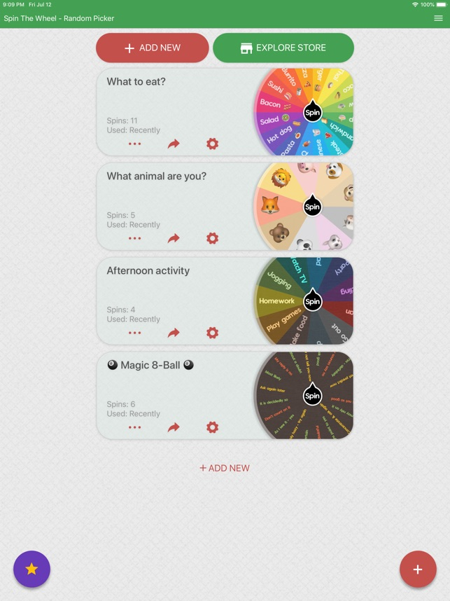 Spin The Wheel - Random Picker on the App Store