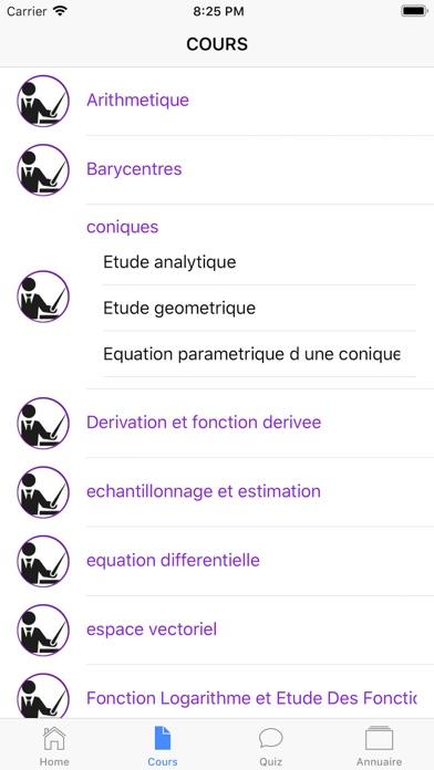 Maths Terminale S screenshot 4