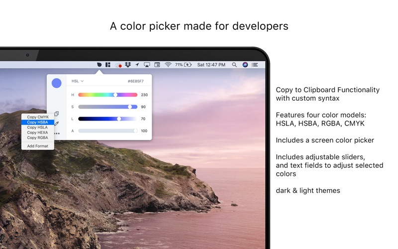 DevSwatch for Mac