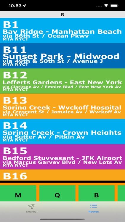 Bus NYC in 3D City View Lite screenshot-9