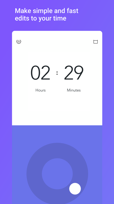 Time Tracker with Alto Screenshots