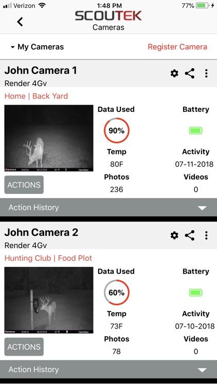 SCOUTEK Camera Management screenshot-5
