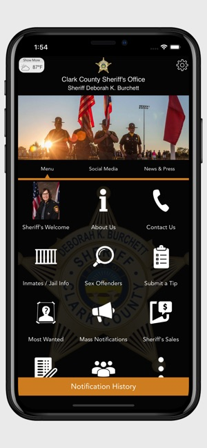 Clark County Sheriff's Office on the App Store