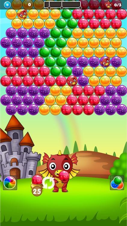Bubble Shooter - Dragon World screenshot-4