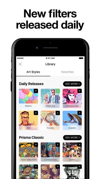 Prisma Photo Editor screenshot-3