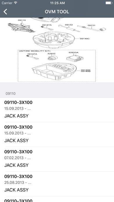 Screenshot for Kia Car Parts Diagrams in Poland App Store
