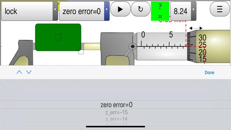 Micrometer Simulator Pro screenshot-7