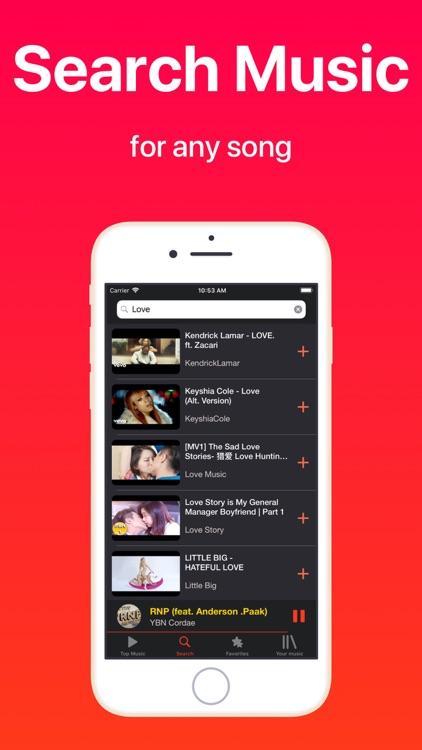 iMusic - Music Video Player screenshot-3