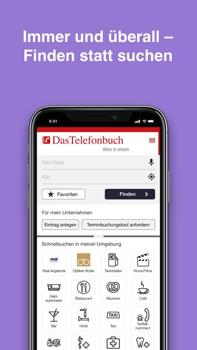 Das Telefonbuch: mobile GuideScreenshot von 1