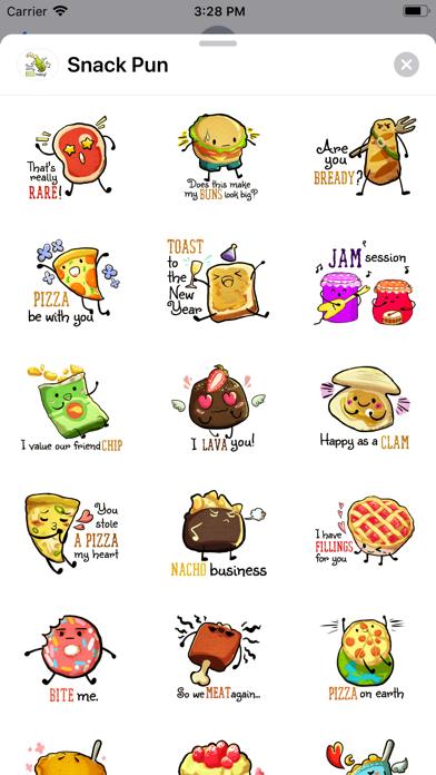 Snack Pun screenshot 1