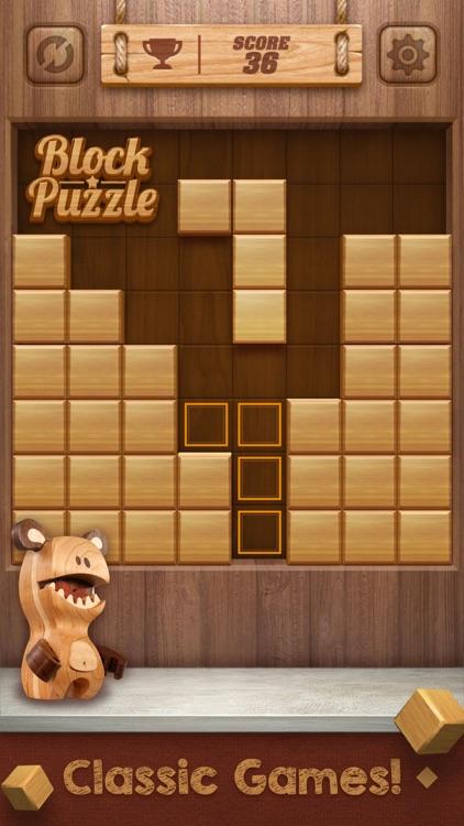Wood Cube Puzzle screenshot-0