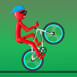 Stickman Bike Wheelie