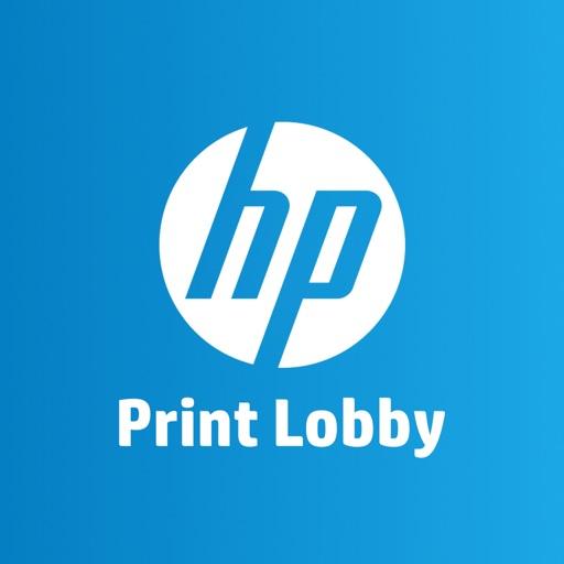 HP Print Lobby iOS App