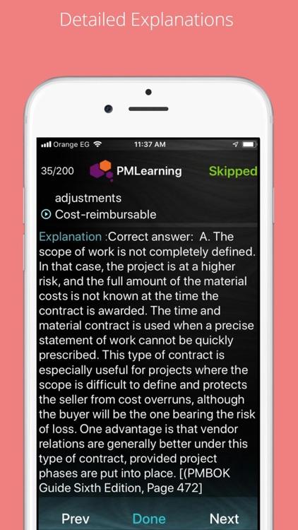 PMP Exam Prep 2021: 100 % Pass screenshot-4