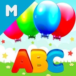 ABC Play Ballooon Pop Letters