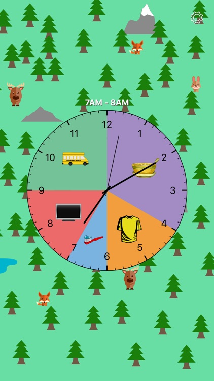 Kids Activity Clock