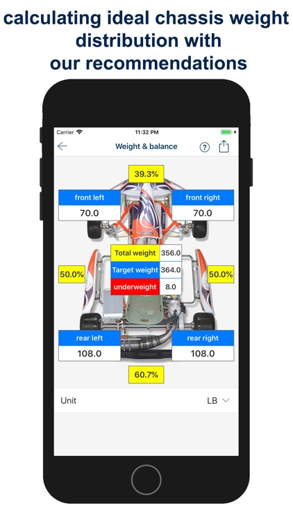 Kart Chassis Setup PRO screenshot-8