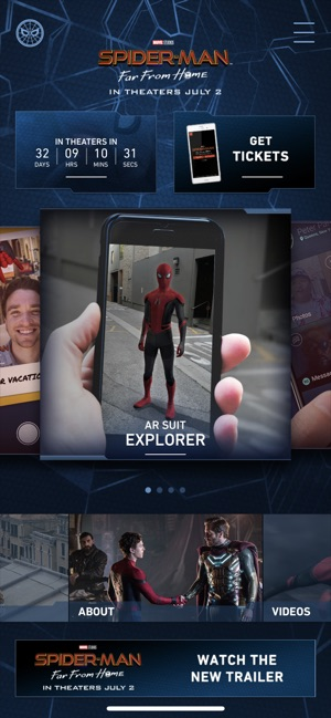 Spider-Man: Far From Home on the App Store