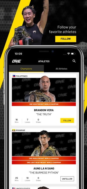 ONE Championship on the App Store