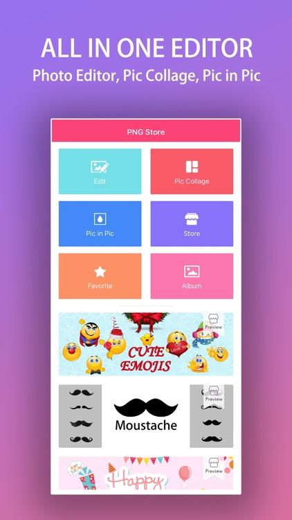PNG Store : Face Photo Editor screenshot-3