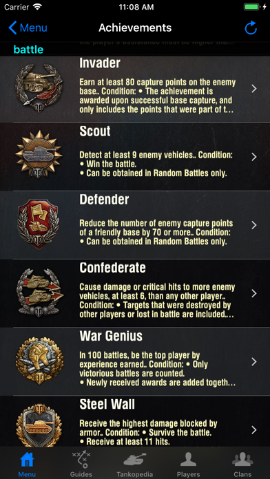 Guide for World of Tanks Screenshots