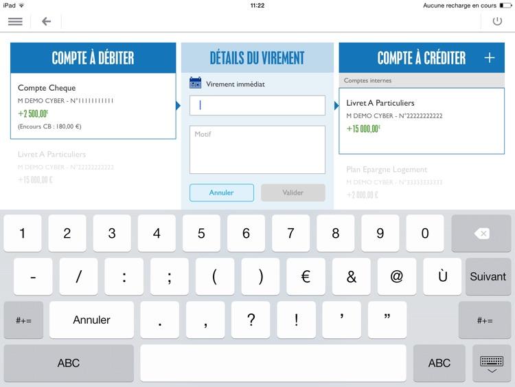 Banque Populaire pour iPad screenshot-3