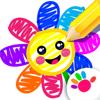 Jogos pintar crianças infantis