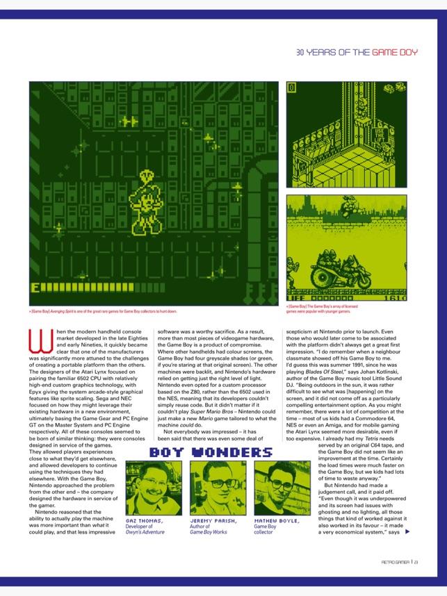 Classic Gamer Magazine