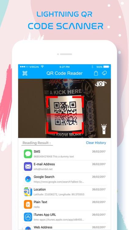 QR Code Scanner / Reader Pro screenshot-3