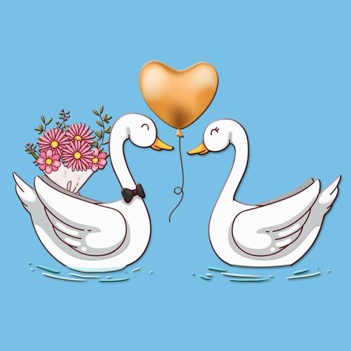 Bouquet Love Letter Stickers
