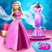 3D服装设计师: 创建时尚衣服在换装游戏和女生游戏