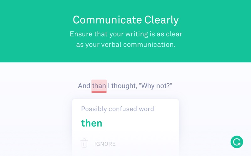 Grammarly for Safari Screenshot
