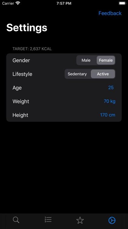 Food Data screenshot-6