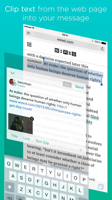 Linky for Twitter and Mastodon app image
