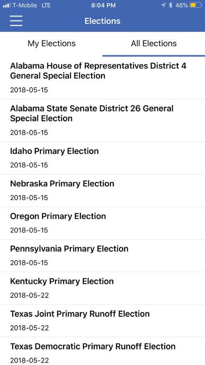 Political App screenshot-5