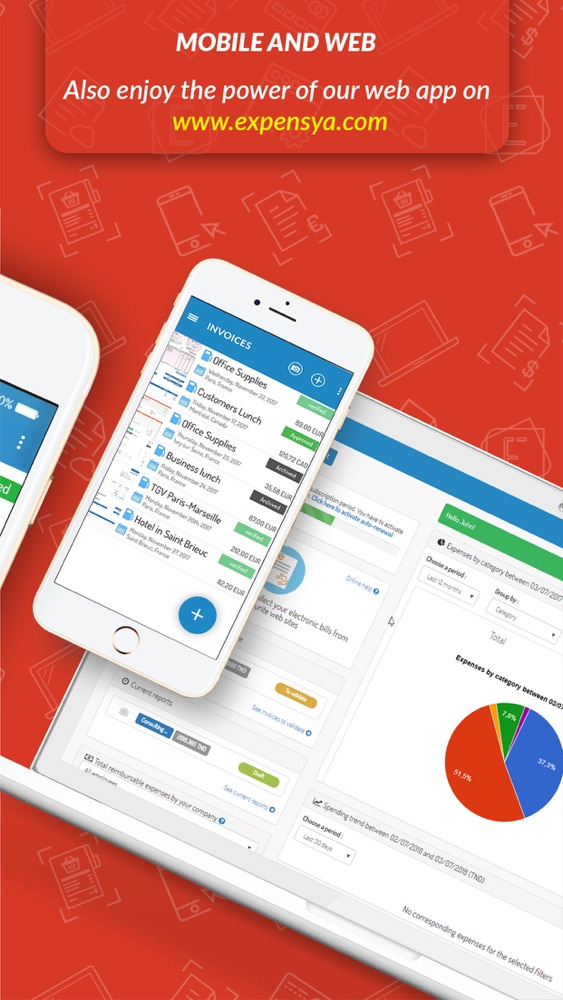 Expensya Expense Reports App For IPhone Free Download