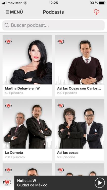 WRadio México para iPhone screenshot-5