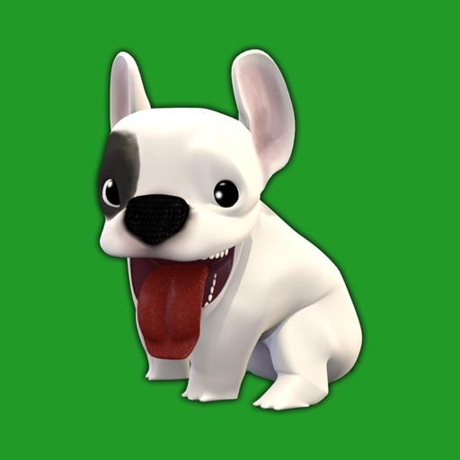 French Bulldog animated dog