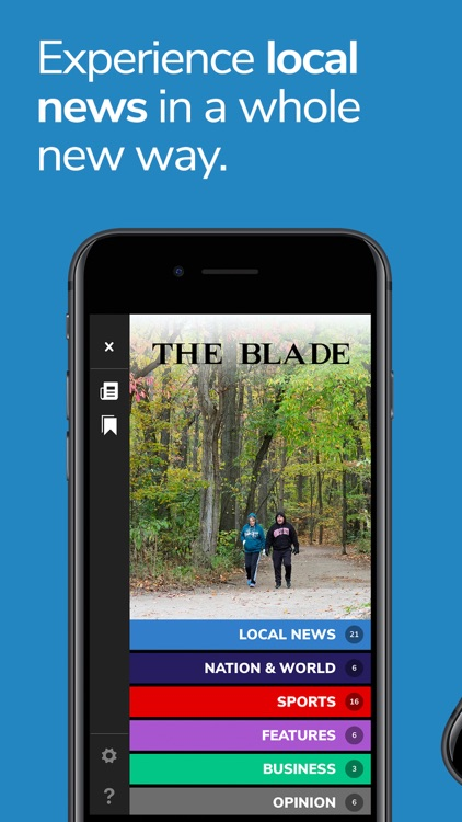 Blade NewsSlide for iPhone