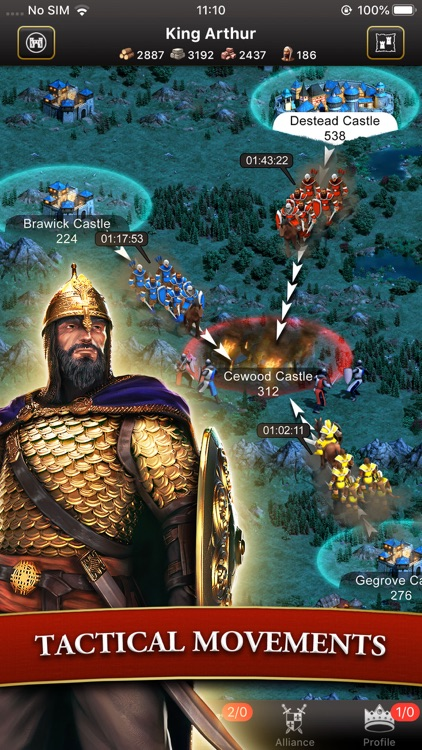 Lords & Knights - Mobile Kings screenshot-4