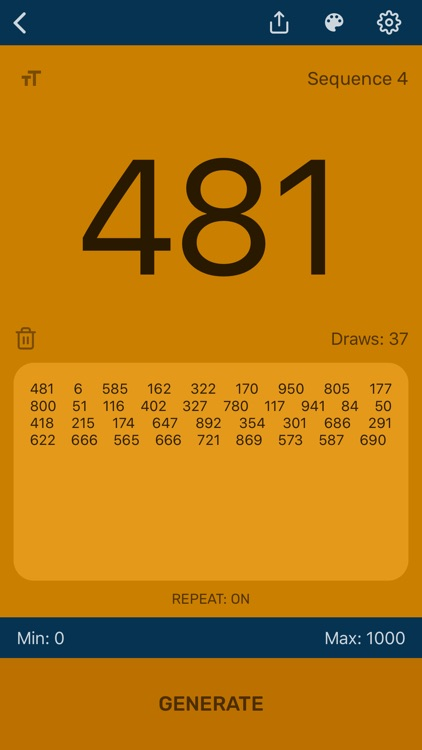Random Number Generator App screenshot-3