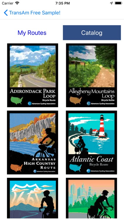 Bicycle Route Navigator by Adventure Cycling Association