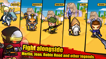 MiniWarriors.io screenshot 3