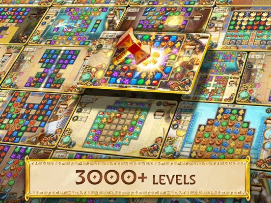 Jewels of Egypt: Match Game screenshot 14